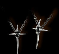 Alchemy Gothic - Cross Of Nails Pendant