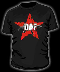 D.A.F. - Roter Stern 2013 T-Shirt