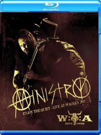 Ministry - Enjoy The Quiet - Live At Wacken 2012 Blu-ray disc