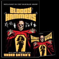 Bloody Hammers - Under Satan's Sun [Black Vinyl] LP