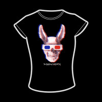 The Birthday Massacre - 3D Skull Girlie-Shirt