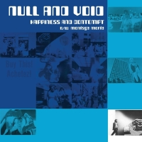 Null And Void - Hapiness And Contempt B/W Montage M LP