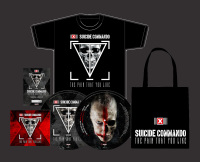 Suicide Commando - The Pain That You Like (Bundle) MCD + PLP + BAG + T-Shirt