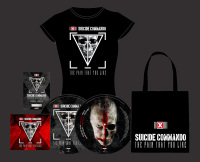 Suicide Commando - The Pain That You Like (Bundle) MCD + PLP + BAG + Girlie-Shirt
