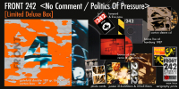 Front 242 - No Comment / Politics Of Pressure (Deluxe Anniversary Limited BOX) 2LP + 3CD