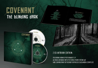 Covenant - The Blinding Dark (Deluxe Edition) 2CD + Book