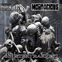 Mordacious - Sinister:Harvest CD