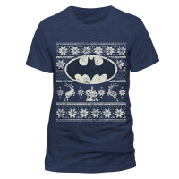 Merchandise - Batman - Logo Christmas T-Shirt