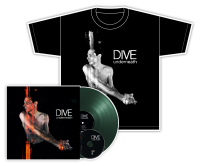 Dive - Underneath (Limited Dark Green Vinyl) LP + CD + T-Shirt