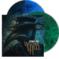 Mono Inc. - Welcome To Hell (Clear Blue/Green Vinyl) 2LP