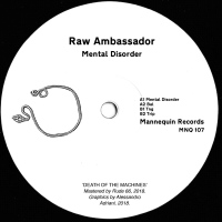 Raw Ambassador - Mental Disorder LP