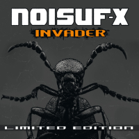 Noisuf-X - Invader (Limited Edition) CD