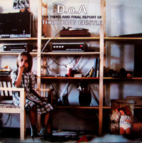 Throbbing Gristle - D.O.A.The Third And Final Report Of TG LP