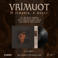 Vrimuot - O Tempora, O Mores! (Limited Black Vinyl) LP