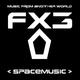 view FX3 - Spacemusic CD