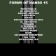 view Various - Forms of Hands 15 CD