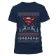 view Merchandise - Superman - Logo Christmas T-Shirt